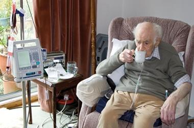 Elderly patient care home