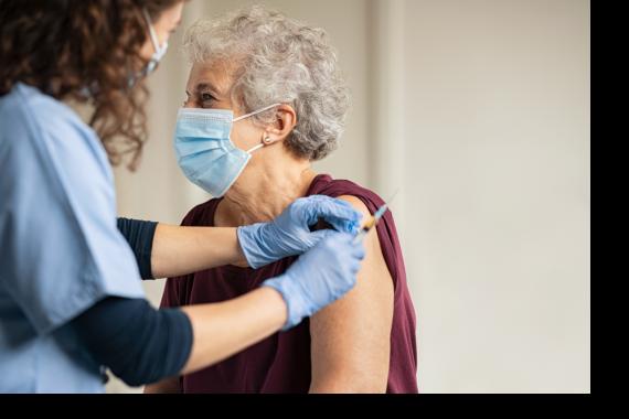 Older patient Oxford vaccine