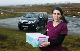 Working Life: The 100-mile vaccine trips