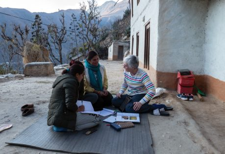 Working Life: Mentoring primary care workers in rural Nepal