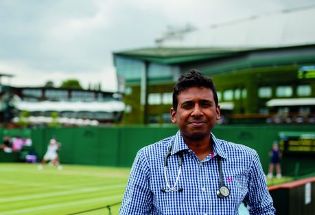 Working life: Back in play at Wimbledon